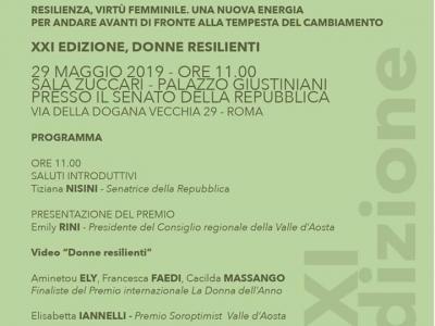 Roma. Conferenza Stampa premio internazionale